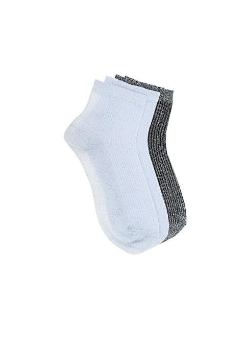 Divarese 2'li Çorap Beyaz